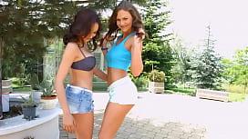 Tina Kay and Belle...