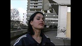 Sexy brunette teen casting...