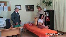 Nasty slut gets seduced...