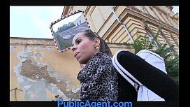 PublicAgent Hot brunette gets...