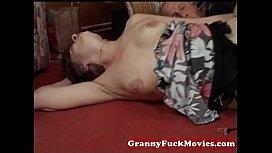 Naughty granny dicked...