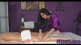 Vanessa Cage sexy massage...