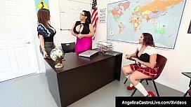 Principal Sara Jay Helps...
