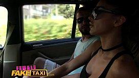 Female Fake Taxi Brunette...