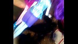 MLP Eg Dolls, Rarity Andr&eacute_s pinkie