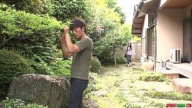 Busty milf Rie Tachikawa...