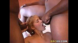 Blonde Hairy Rebecca Loves...