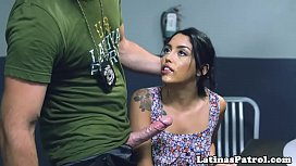 Latina immigrant fucked during...