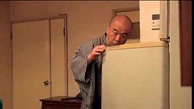 japanese Teen fucks old man 1