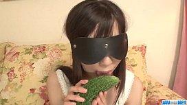 Shizuku obedient girl blows...