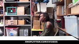ShopLyfter - Cute Ebony Teen...