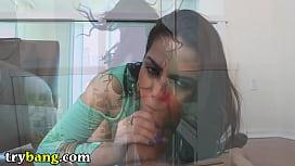 TRYBANG - Latina Babe Ada...