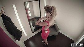 Horny secretary Cara Mell...