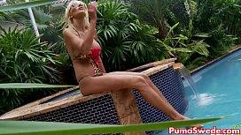 Euro Blonde Puma Swede...