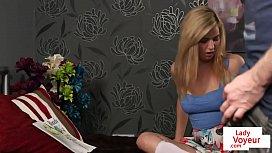 Teenage british femdom encouraging...