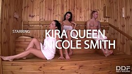 Naughty babes Kira Queen...