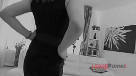 Brunette In Stockings Valeria Borghe ...