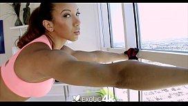 4K HD - Exotic4K Latin Sophia Fiore Enjoys Anal Fucking
