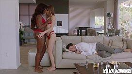 VIXEN Riley Reid has Intense Threesome with Ana Foxxx and Boyfriend wwwxxx hd