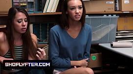 Duo teen shoplifters caught...