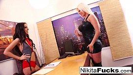 Nikita's lesbian...