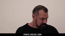 FamilyDick - Bear Daddy Fucks...