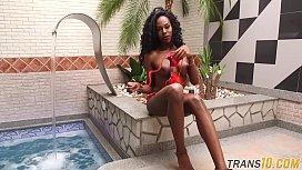 Nubian trans babe plowed...
