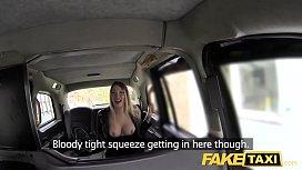 Fake Taxi footjob and...