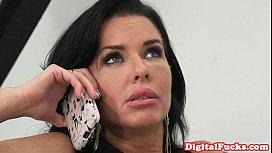 Nikki Benz scissors with...