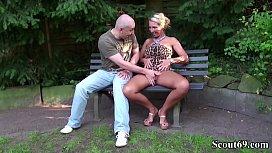 German Big Tits MILF...