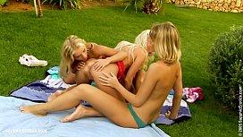 Backyard Erotica sensual lesbian...