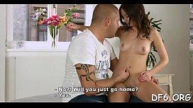 Juvenile virgin shows her...