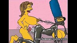 Famous toons BDSM orgies