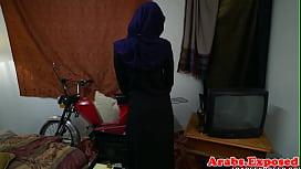 Busty arab amateur pounded...