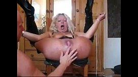 Blonde MILF Sub Gets...