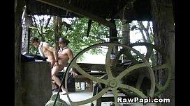 Latino Gay Cowboys Barebacking...