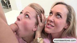 Brandi Love amazing threesome...