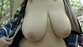 Public nudity: Alexsis Faye...