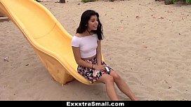 ExxxtraSmall - Petite Latina Brutally...