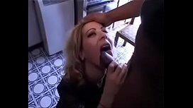 Crazy italian blond anal...