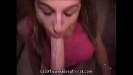 Deepthroat teen bitch...