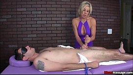 Blindfolded and Teased Brad...