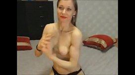 Muscular Chick Masturbates And Cums