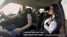 Guy bangs pierced cunt...