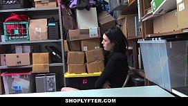 Shoplyfter - Pale Skinny teen...
