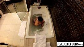 Jezebelle Bond films herself...