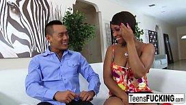 Ebony hottie Imani Rose...
