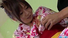 Nozomi Hazuki gets a...
