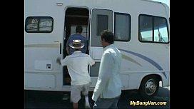 Real bangvan anal gangbang...