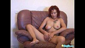 Redhead milf Zharona sex...